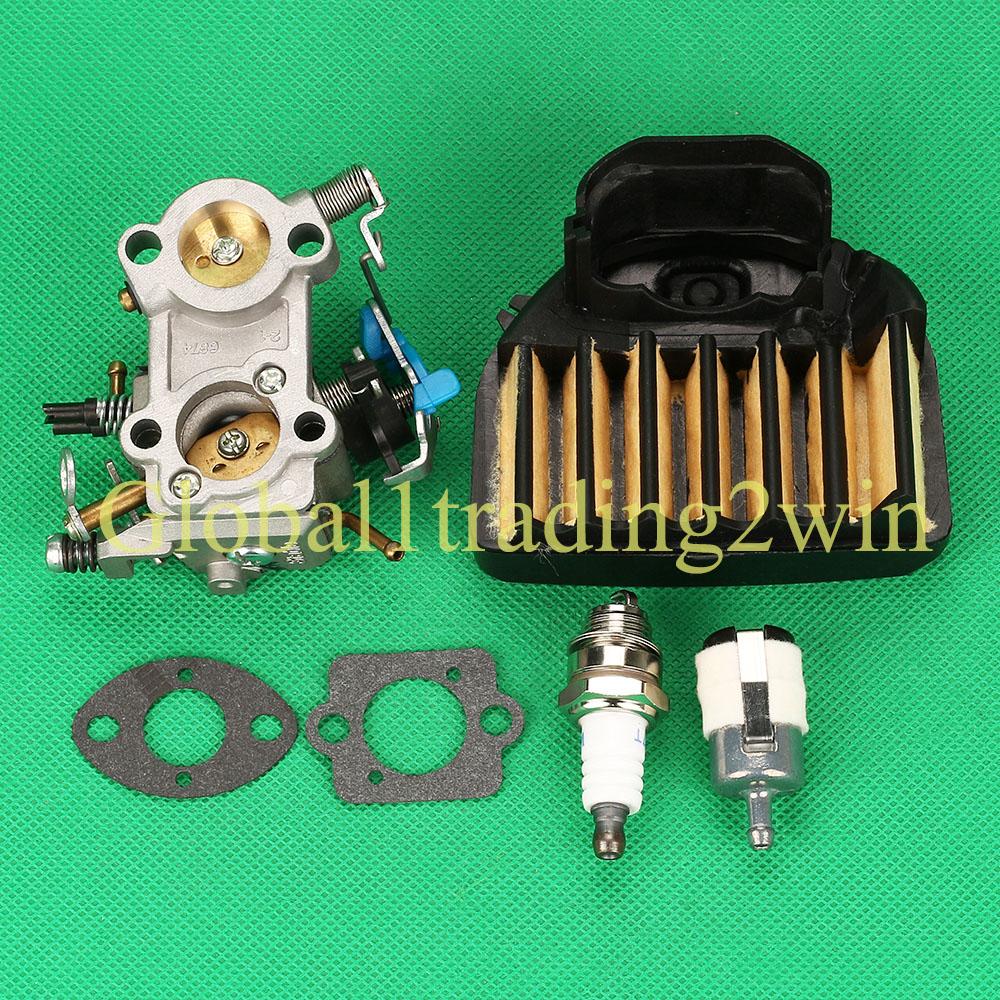 Carburetor Air Fuel Filter For Husqvarna 461 460 455 455e