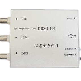 Bandwidth 50M * Dual Channel USB * virtual sampling oscilloscope