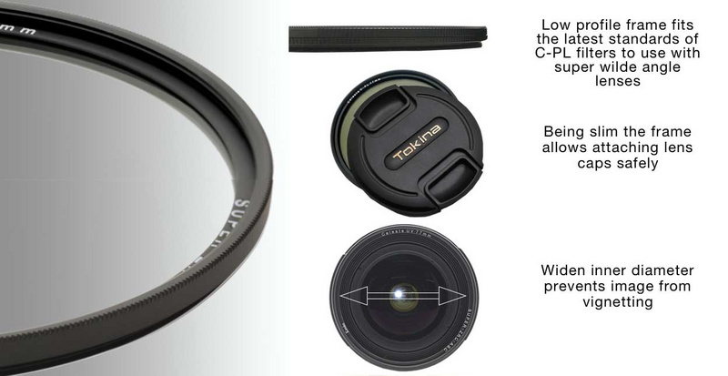 Kenko Celeste Polfilter CPL Filter 72mm slim frame Anti Fleck Beschichtung