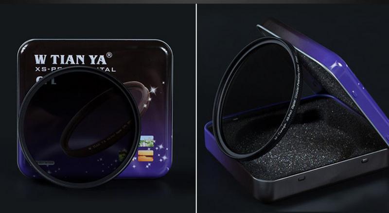 Tian Ya XS-PRO1 digital CPL 58mm polarizador circular circular pol E-58