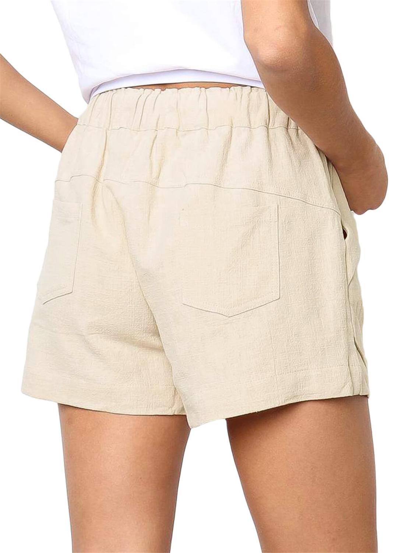 Beige Faylin Shorts