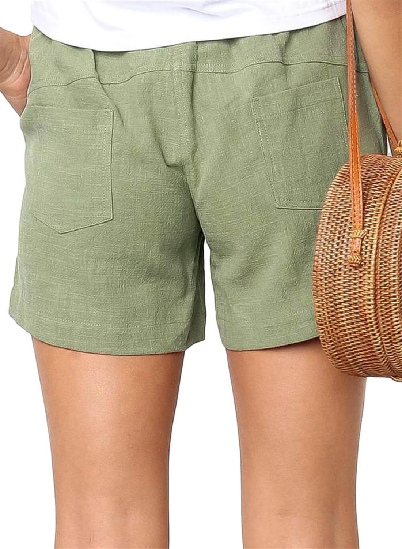 Green Faylin Shorts